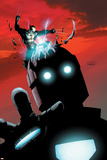 X-Men No.178 Cover: Wolverine and Sentinel Poster di Salvador Larroca