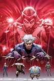 Ultimate Fallout No.5 Cover: Witch, Quicksilver, Sabretooth, Blob, and Mystique Posters by Bryan Hitch