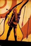 Hawkeye 12 Cover: Hawkeye Poster di Francesco Francavilla