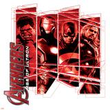 The Avengers: Age of Ultron - Hulk, Iron Man, Captain America, Thor Prints