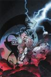 Thor: God of Thunder 10 Cover: Odin, Gorr Poster di Esad Ribic