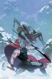Thor: God of Thunder 16 Cover: Thor, Malekith Affiche par Esad Ribic