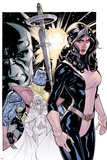 Uncanny X-Men No.535 Cover: Kitty Pryde, Colossus, Wolverine, and Emma Frost Plakater av Terry Dodson