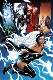 Origins of Marvel Comics: X-Men No.1: Storm Flying Stampa di Terry Dodson