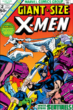 Giant-Size X-Men No.2 Cover: Sentinel, Cyclops, Iceman, Angel and Beast Photo by Dave Cockrum