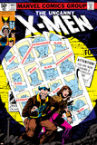 Uncanny X-Men No.141 Cover: Wolverine, Pryde and Kitty Charging Poster di John Byrne