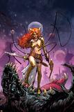 Guardians of the Galaxy 6 Cover: Angela Poster di Sara Pichelli