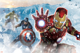 The Avengers: Age of Ultron - Iron Man, Captain America, and Hulk Prints