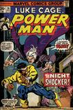 Marvel Comics Retro: Luke Cage, Hero for Hire Comic Book Cover No.26, the Night Shocker! (aged) Poster