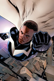 Mighty Avengers 3 Cover: Blue Marvel Billeder af Greg Land