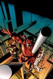 New Avengers No.16 Cover: Daredevil, Iron Fist, Ms. Marvel, Spider-Man Foto di Mike Deodato