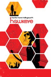 Hawkeye 14 Cover: Bishop, Kate Poster di Matt Hollingsworth