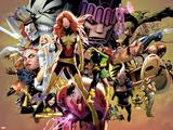 Uncanny X-Men No.544: Dark Phoenix, White Queen, Apocalypse, Sentinel, Magneto, Storm, Wolverine Posters af Greg Land