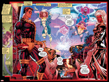 X-Men No.1: 20th Anniversary Edition: Storm, Colossus, Archangel, Iceman, Beast, Forge Posters by Jim Lee