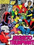 Marvel Comics Retro: X-Men Comic Panel Poster