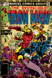 Marvel Comics Retro: The Invincible Iron Man Comic Book Cover No.127, Against the Super-Army! Stampe