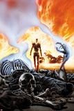 Ghost Rider No.6 Cover Plakater av Ron Garney