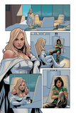 Wolverine and Jubilee No.1: Panels with Emma Frost Plakater av Phil Noto