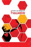 Hawkeye 13 Cover: Hawkeye Poster di David Aja