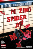 The Amazing Spider-Man No.665 Cover: Spider-Man Falling from the Marquee Prints by Paolo Rivera