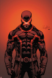Cable and X-Force 7 Cover: Cyclops Plakat av Salvador Larroca
