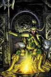 Thor: First Thunder No.2 Cover: Loki Sitting Poster af Jay Anacleto