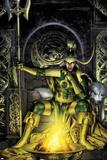 Thor: First Thunder No.2 Cover: Loki Sitting Juliste tekijänä Jay Anacleto