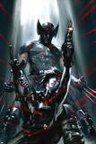 X-Force: Sex and Violence No.3 Cover: Domino and Wolverine Posing Poster di Gabriele DellOtto