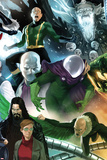 The Amazing Spider-Man No.646 Cover: Mysterio, Chameleon, Electro, and Vulture Standing Posters par Marko Djurdjevic