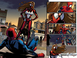 Ultimate Comics Spider-Man No.5: Spider-Man Faces Spider Woman Posters by Sara Pichelli