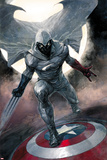 Moon Knight No.1 Cover: Moon Knight Print by Alex Maleev