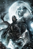 Shadowland: Moon Knight No.2 Cover: Moon Knight Standing Print by Francesco Mattina