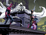 Moon Knight No.2: Spider-Man, Moon Knight, Wolverine, and Captain America Posters by Alex Maleev
