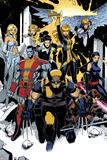 X-Men: Curse of The Mutants - Storm & Gambit No.1: Wolverine, Colossus, Magik, Psylocke, Northstar Posters av Chris Bachalo