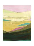 Pink Hills I Reproduction giclée Premium par Jodi Fuchs