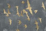 Silhouettes in Flight IV Poster von Jennifer Goldberger