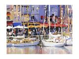 Honfleur Harbor Posters by Edie Fagan