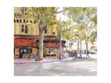 Early Morning Paris Kunstdrucke von Edie Fagan