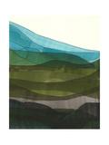 Blue Hills II Reproduction giclée Premium par Jodi Fuchs