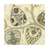 Patterns in Foliage I Metal Print by June Erica Vess