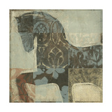 Patterned Horse I Metal Print by Tim