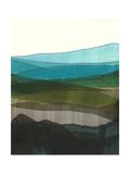 Blue Hills I Reproduction giclée Premium par Jodi Fuchs