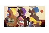African Women Prints by Varnette Honeywood