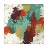 Kaleidoscope Signals II Metal Print by June Erica Vess