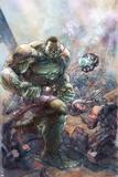 Indestructible Hulk 1 Cover Featuring Hulk Posters av Leinil Francis Yu