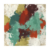 Kaleidoscope Signals I Metal Print by June Erica Vess