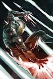 Avengers Assemble Artwork Featuring Iron Man Affiches