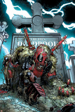 Deadpool Cover Featuring Deadpool Poster