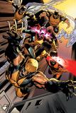 All-New X-Men 10 Featuring Wolverine, Cyclops, Jean Grey, Beast, Iceman, Angel Plakater av Stuart Immonen