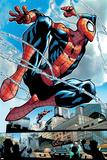 The Amazing Spider-Man 1 Featuring Spider-Man Poster av Humberto Ramos